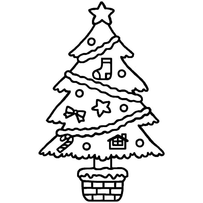 クリスマスツリーの画像 p1_27