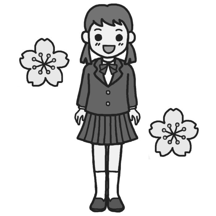 Child Illust : 一年生の : 一年生