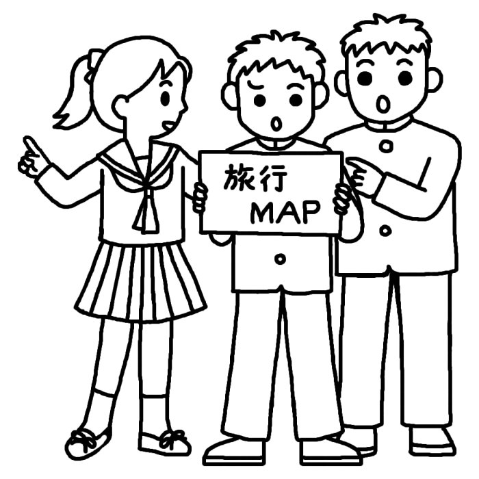 中学校・高校のイラスト素材 ... : 小学生 無料 テスト : 小学生