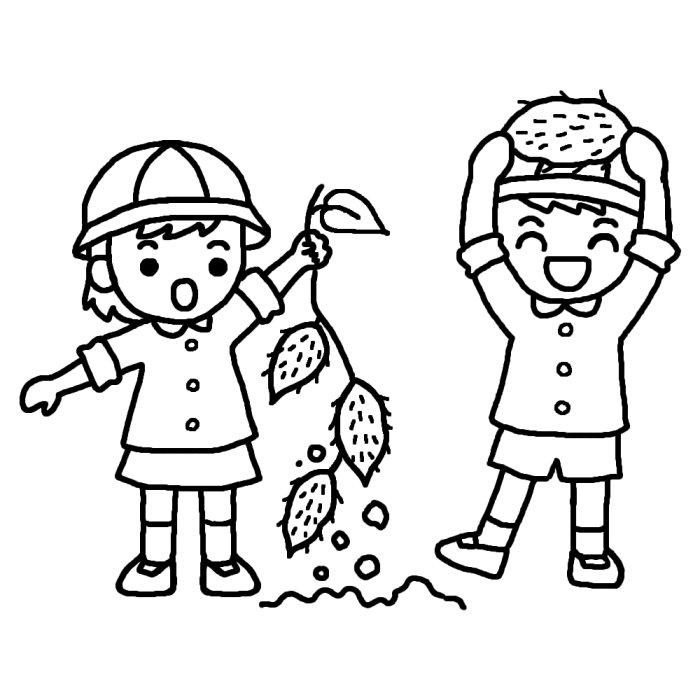 ... イラスト/秋の季節・行事/保育