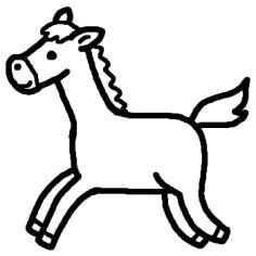 かわいい馬のイラストまとめ☆ ...