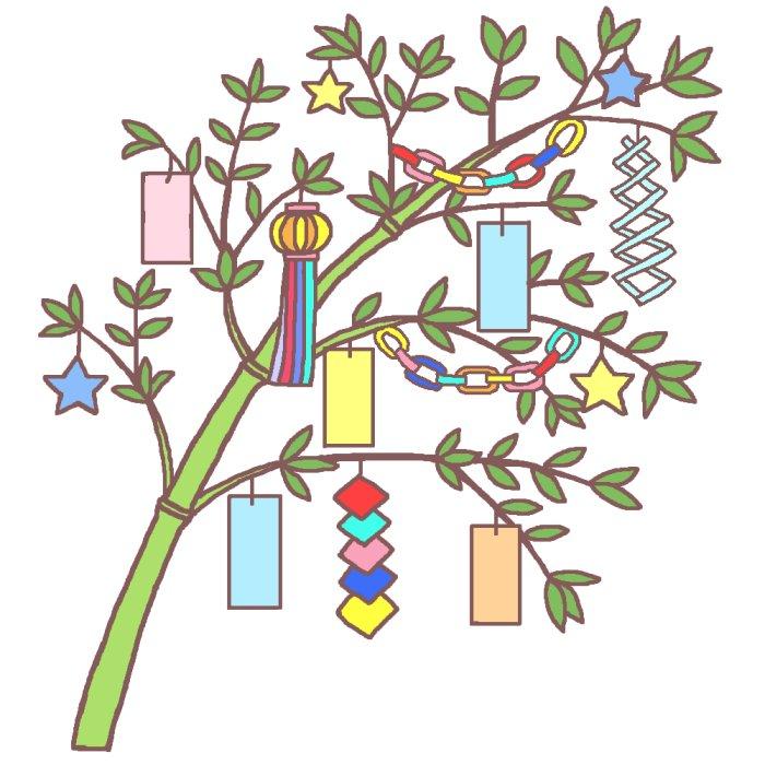 Prince Greeting Tanabata : 七夕 飾りつけ : 七夕